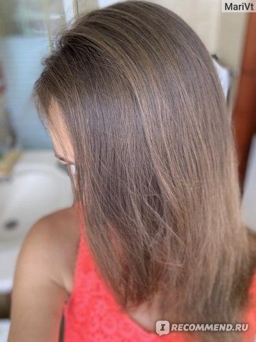 Не укладывала волосы феном и не вытягивала утюжком