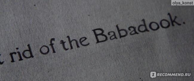 Бабадук (The Babadook) (2014, фильм) фото