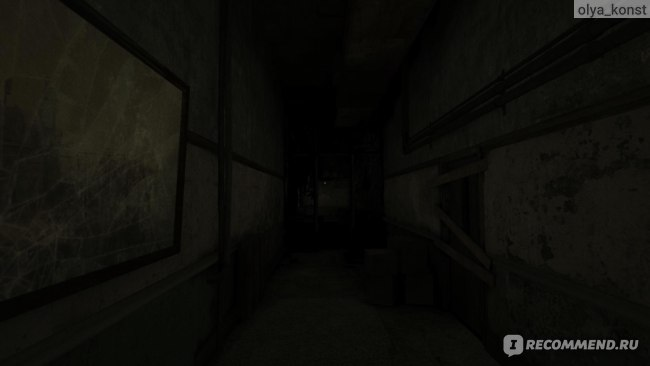 Тёмный-тёмный коридор, я на цыпочках как вор...
