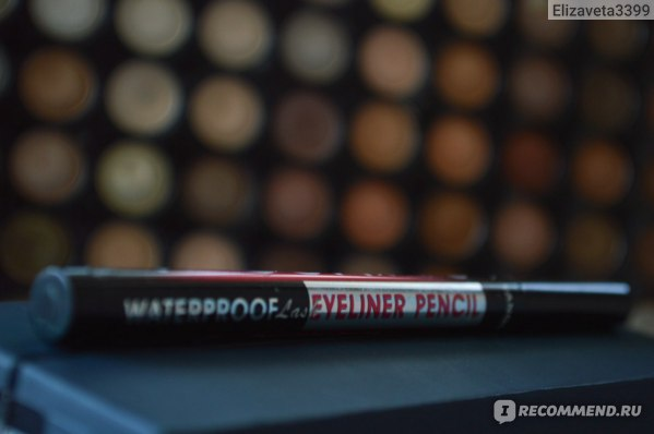 Подводка-фломастер водостойкая YANQINA Precision liquid eye liner 36H фото