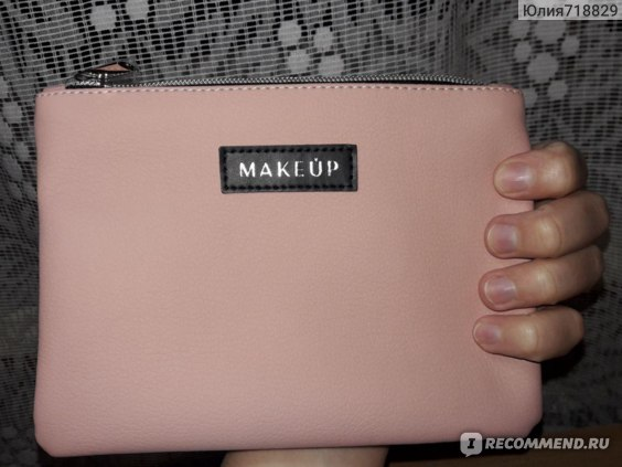 "Косметичка Make up ""Powder Trend"" пудрового цвета фото"