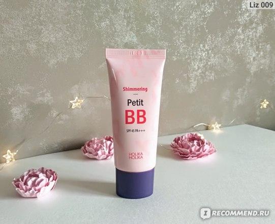 ВВ крем Holika Holika  Shimmering Petit BB Cream фото