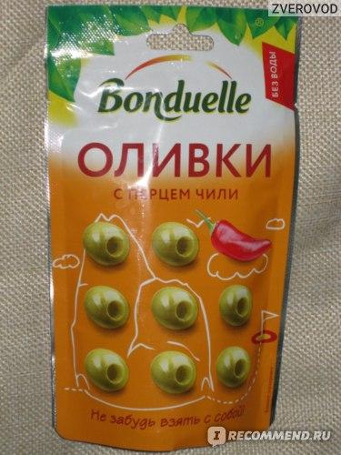 Оливки Bonduelle С перцем Чили фото