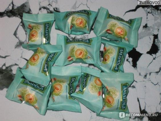 Конфеты глазированные Amapola Миндаль и кокос фото