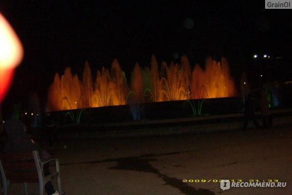 Музыкальное шоу фонтанов