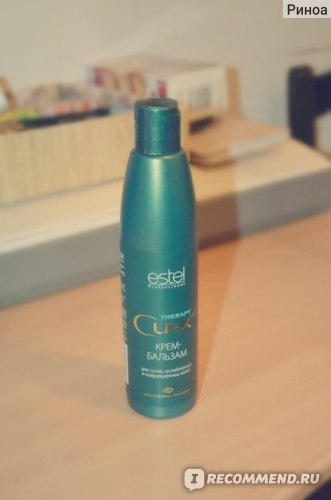 Крем-бальзам для сухих, ослабленных и повреждённых волос Estel Curex Therapy фото