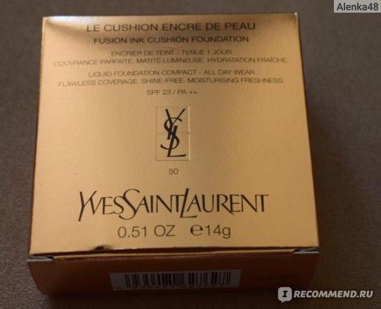 Тональный флюид Yves Saint Laurent Le Cushion Encre de Peau  фото