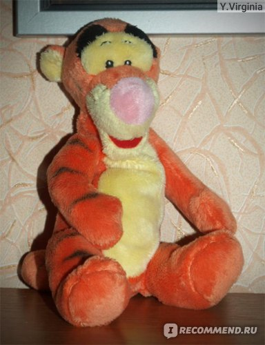 Disney Мягкая игрушка Тигруля фото