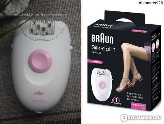 Эпилятор Braun Silk-epil 1370