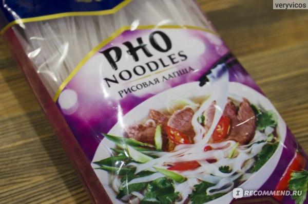 Макаронные изделия Sen Soy / Сэн Сой FO-KHO рисовая лапша фото