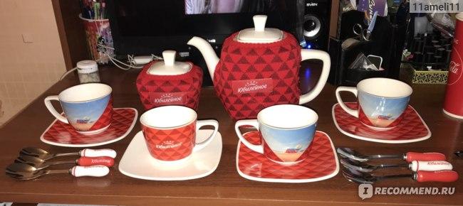 Чайный сервиз Большевик Юбилейное фото