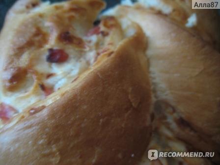 Хлеб Седьмой континент Картофельный с ветчиной и сыром фото