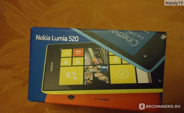 Nokia Lumia 520 фото
