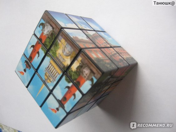 Кубик Рубика (классика 3*3*3) фото