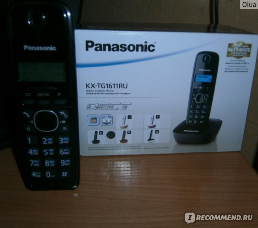 Panasonic KX-TG1611 фото