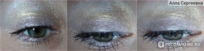 макияж с тремя оттенками - 01, 41 и 43 - дневное освещение