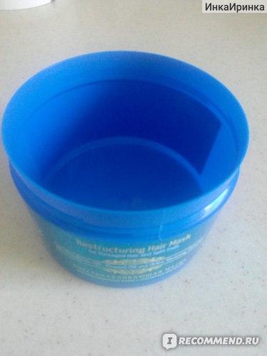 Маска для волос LIQ Restructuring Hair Mask Восстанавливающая для поврежденных волос и секущихся кончиков  фото