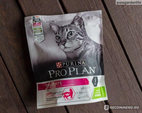 Корм для кошек Purina Pro Plan Delicate фото
