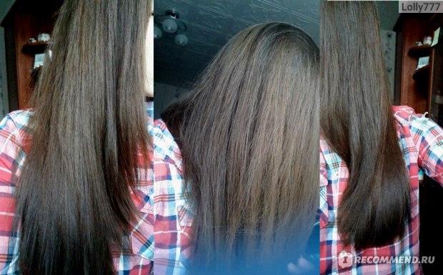 волосы после шампуня, фото без вспышки