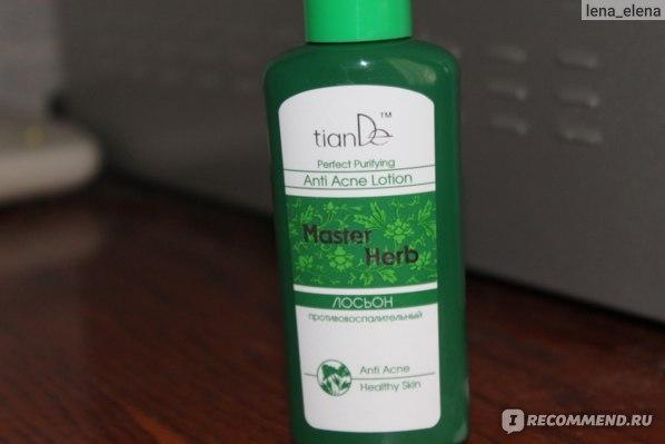 Лосьон TianDe Противовоспалительный Master Herb (ежедневное очищение, тонизирование) фото