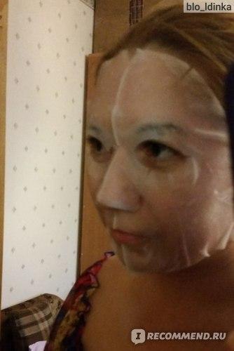 Тканевая маска для лица FoodaHolic 3D Natural Essence Mask Red Ginseng фото