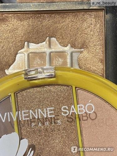Палетка для макияжа лица Vivienne Sabo Fleur du soleil фото