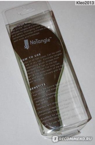 Расческа Macadamia Natural Oil No Tangle Brush фото