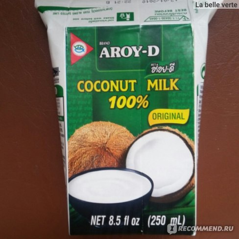 Кокосовое молоко AROY-D Coconut milk 100 % oridginal фото