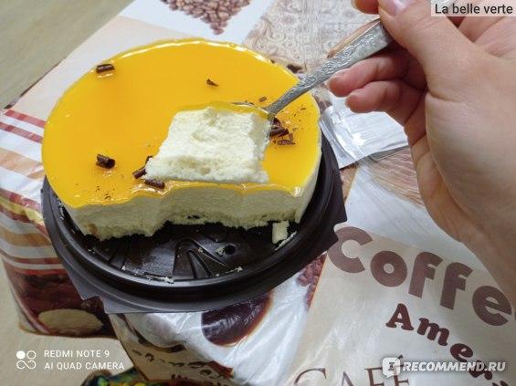 Торт ВкусВилл / Избёнка Маракуйя фото