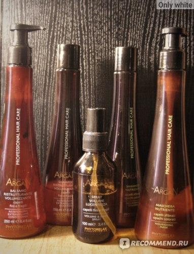 Маска для волос Phytorelax laboratories питательная с аргановым маслом (Nourishing mask) фото