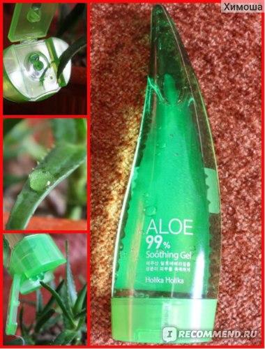 Универсальный гель Holika Holika Aloe 99% Soothing Gel фото