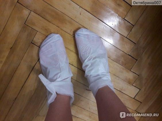 Носочки для педикюра Sephora Lavander foot mask фото