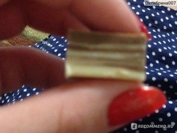 Молочный шоколад Озерский сувенир в кубиках  Детский полосатый фото