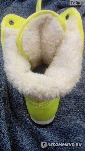 Зимние женские дутики No Limits No Way на шнурках фото