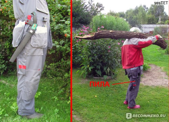 Ножовка садовая Due Buoi 240 m/m фото