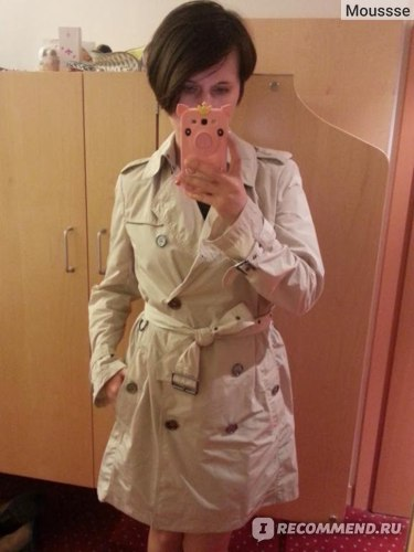 Плащ Burberry Brit Packaway Trench Coat фото