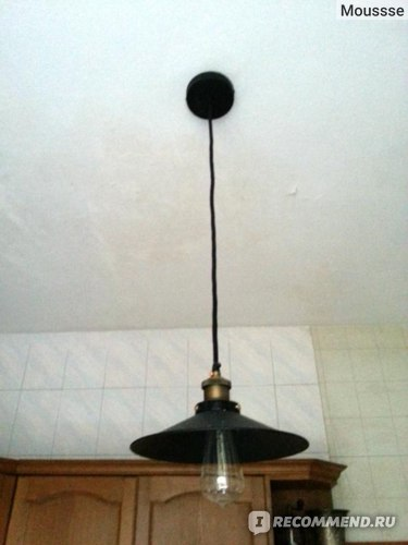 Лампа Lightinthebox.com European-Style Retro 1 Light Pendant In Painting Processing фото