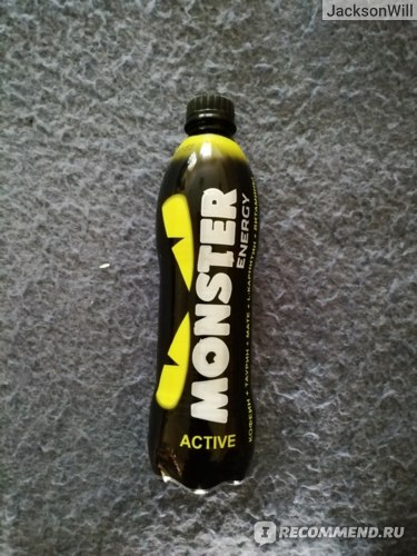 Энергетический напиток Monster Energy Green фото