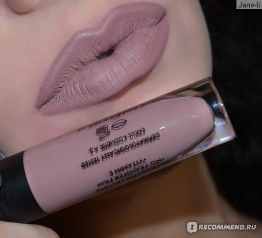 Жидкая матовая помада Golden Rose Longstay Liquid Matte Lipstick  фото