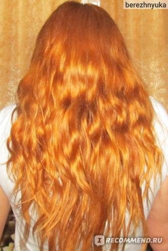 волосы после использования шампуня и бальзама