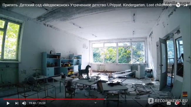 Заброшенный детский сад в Припяти