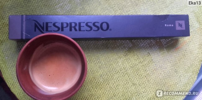 Капсулы для кофе-машин Nespresso ROMA фото