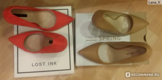 Туфли на высоком каблуке Call It Spring CA052AWHNN52 фото