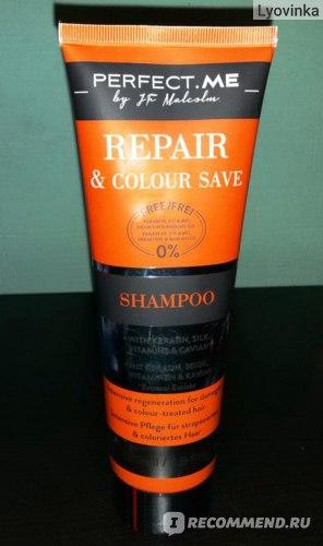 Шампунь Perfect.Me для поврежденных и окрашенных волос Repair and Color Save фото