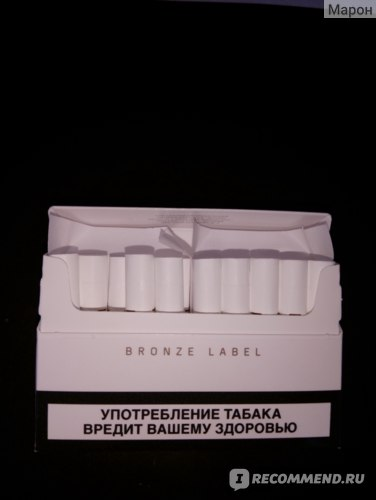 Табачные стики для IQOS Филип Моррис Heets Bronze Label фото