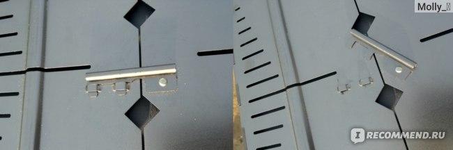 Мангал-дипломат FORESTER из углеродной стали BC-781R, 46Х30 СМ фото