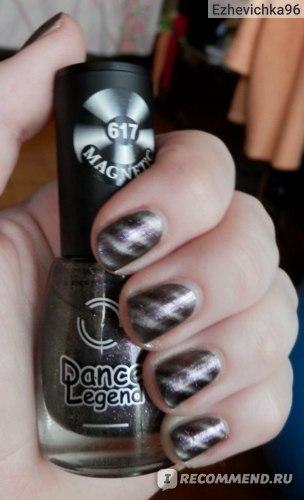 Лак для ногтей Dance legend Magnetic фото