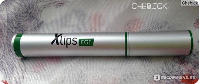 Бальзам для интенсивного ухода за губами Almea Xlips EFG фото
