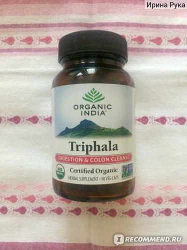 БАД Organic India Triphala фото