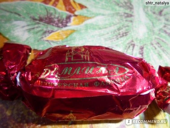 """конфета""""Кремлина""""Ананас в шоколадной глазури"""